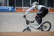 #77 (SAKAKIBARA Kai) AUS at Round 2 of the 2020 UCI BMX Supercross World Cup in Shepparton, Australia.