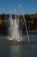 Les Grandes Eaux Musicales is a spectacle at the Chateau de Versailles held usually on weekends.  The fountains spout water to the rhythm of Baroque music. Several circuits are available to enable visitors to enjoy the numerous masterpieces of the gardens and fountains. The musical fountain displays are particularly dramatic at the Mirror Fountain, Water Theatre Grove and Neptune Fountain.