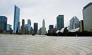 Chicago IL, waterfront skyline