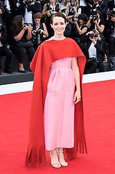 August 29, 2018 - Venice, Venetien, Italien - Claire Foy attending the 'First Man' premiere at the 75th Venice International Film Festival at the Palazzo del Cinema on August 29, 2018 in Venice, Italy. (Credit Image: © Future-Image via ZUMA Press)