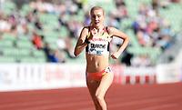 Friidrett ,  11. juni 2015 , Diamond League , Bislett Games , Oslo<br />  Atheltics<br /> 1500 m<br /> Amy Griffiths , GBR