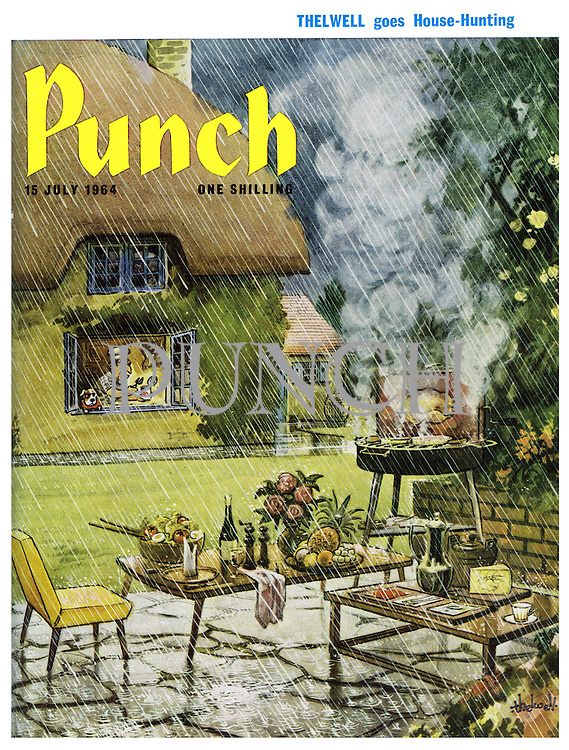 Punch (Front cover, 15 July 1964)