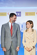 050715 Spanish Royals Attend 'Rey de Espana' and 'Don Quijote' Journalism Awards 2015