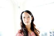 Clara Shih, founder of Hearsay Social, at their offices in San Francisco, Calif., on Monday, November 25, 2013.