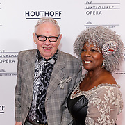 NLD/Amsterdam/20190118 - première The Gershwins' Porgy and Bess, roelof Lenten en partner Gerda Havertong