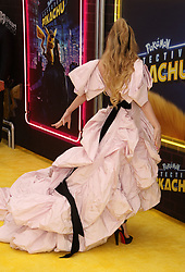 May 2, 2019 - New York City, New York, U.S. - Actor KATHRYN NEWTON attends the US premiere of Pokemon Detective Pikachu held at Military Island Times Square. (Credit Image: © Nancy Kaszerman/ZUMA Wire)