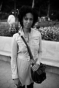 An african american women, south Ferry. New York City, 18 june 2010. Christian Mantuano / OneShot
