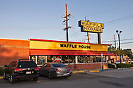 Waffel house in Slidell  LA   on Gauss Blvd. now only serving take out only due to coronavirus pandemic.