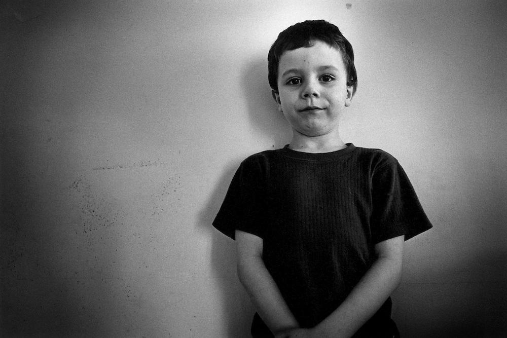 Paris, janvier 2000. Jason, 6 ans.