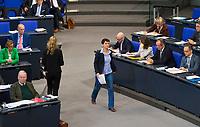 DEU, Deutschland, Germany, Berlin, 21.11.2018: Dr. Frauke Petry (fraktionslos) während einer Plenarsitzung im Deutschen Bundestag.
