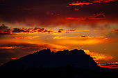 Montserrat at Sunset