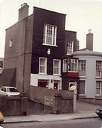 Photos 37, 38 and 40 were taken of this building in 1988.  It may be in the Blackrock area. if you know can you please let us know and we will gladly update the data.<br /> <br /> <br /> <br /> Old amateur photos of Dublin streets churches, cars, lanes, roads, shops schools, hospitals, Streetscape views are hard to come by while the quality is not always the best in this collection they do capture Dublin streets not often available and have seen a lot of change since photos were taken Old Fire, Blackrock, Library, Bookshop, Carraig Books, St Patrick's Cathedral from Clanbrassil st April 1984