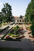 Giardino della villa Litta Borromeo a Lainate..Garden of the villa Litta Borromeo in Lainate