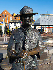 Baden Powell statue 11th June 2020
