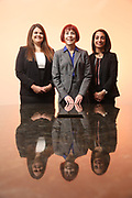 SHOT 12/4/19 11:35:29 AM - McGuane & Hogan, P.C., a Colorado family law firm located in Denver, Co. Includes attorneys Kathleen Ann Hogan, Halleh T. Omidi and Katie P. Ahles. (Photo by Marc Piscotty / © 2019)
