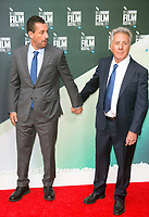 Adam Sandler and Dustin Hoffman at the 'The Meyerowitz Stories' premiere, BFI London Film Festival, UK  6th Oct 2017