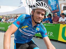06.07.2015, Litschau, AUT, Österreich Radrundfahrt, 2. Etappe, Litschau nach Grieskirchen, im Bild Jure Golcer (SLO, Team Felbermayr Simplon) // Jure Golcer of Slowenia during the Tour of Austria, 2nd Stage, from Litschau to Grieskirchens, Litschau, Austria on 2015/07/06. EXPA Pictures © 2015, PhotoCredit: EXPA/ Reinhard Eisenbauer