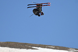 19.03.2017, Ski Stadium, Sierra Nevada, ESP, FIS Freestyle Ski and Snowboard WM, Sierra Nevada 2017, Slope Style Ski, im Bild Mcrae Williams (USA) on his way to winning the gold medal during the Men's Slope Style Ski Final // Mcrae Williams (USA) on his way to winning the gold medal during the Men's Slope Style Ski Final of the FIS Freestyle Ski & Snowboard World Championships 2017 at the Ski Stadium in Sierra Nevada, Spain on 2017/03/19. EXPA Pictures © 2017, PhotoCredit: EXPA/ Focus Images/ Kristian Kane<br /> <br /> *****ATTENTION - for AUT, GER, FRA, ITA, SUI, POL, CRO, SLO only*****