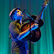 WASHINGTON, DC - January 30th, 2013 - Hot on the heels of their performance on Saturday Night Live,  The Lumineers perform at a sold out DAR Constitution Hall on the day their album moves up to #2 on the Billboard 200 album chart. (Photo by Kyle Gustafson/For The Washington Post)