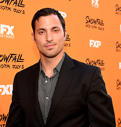 LOS ANGELES - JUNE 26: Juan Javier Cardenas attends FX Networks and FX Productions Premiere event for 'Snowfall' at The Theatre at the Ace Hotel on June 26, 2017 in Los Angeles, California. (Photo by Frank Micelotta//FX/PictureGroup) *** Please Use Credit from Credit Field ***