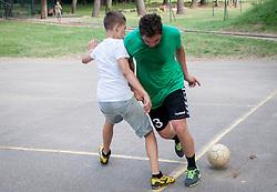 "Aleksander Polak during Handball Summer Camp named ""Rokometni tabor Urosa Zormana 2013"" on June 29, 2013 in Savudrija, Croatia. (Photo by Vid Ponikvar / Sportida.com)"