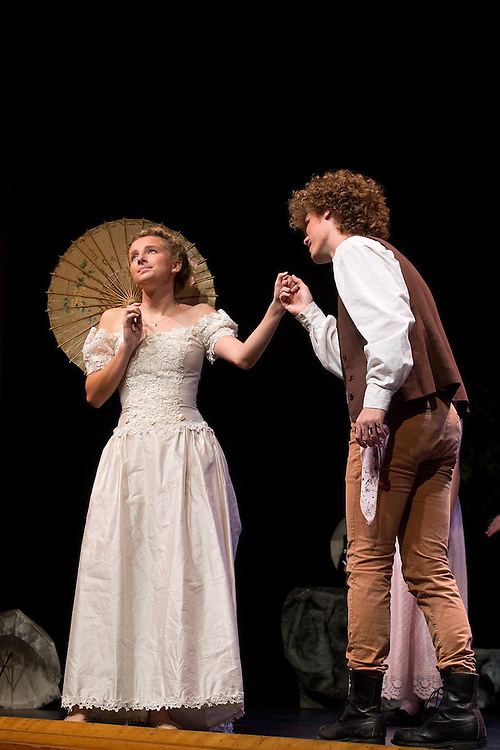 """The Sharon Academy performance of """"The Pirates of Penzance"""" in Randolph, Vt., on November 18, 2016. (Photo by Geoff Hansen)"""
