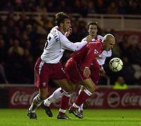 Fotball - Premier League - 11.01.2003<br /> Middlesbrough v Southampton<br /> Claus Lundekvam <br /> Foto: Greig Cowie, Digitalsport