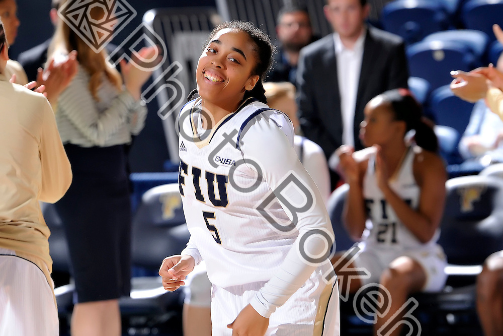 2016 January 23 - FIU's Taylor Shade (5). <br /> Florida International University fell to UTEP, 57-69, at FIU Arena, Miami, Florida. (Photo by: Alex J. Hernandez / photobokeh.com) This image is copyright by PhotoBokeh.com and may not be reproduced or retransmitted without express written consent of PhotoBokeh.com. ©2016 PhotoBokeh.com - All Rights Reserved