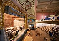 Colonial Theater renovation work.   ©2020 Karen Bobotas Photographer