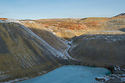The Montana Resources mine in Butte, MT on November 21, 2017. The mine, owned by The Washington Companies, extracts copper and molybdenum.<br /> <br /> CREDIT: Nick Cote for The Wall Street Journal<br /> COPPERMINE