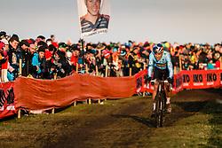 Wout van Aert, 2019 Men Elite UCI Cyclo-cross World Championships at Bogense, Denmark, 3 Februari 2019. Photo by Pim Nijland / PelotonPhotos.com   All photos usage must carry mandatory copyright credit (Peloton Photos   Pim Nijland)