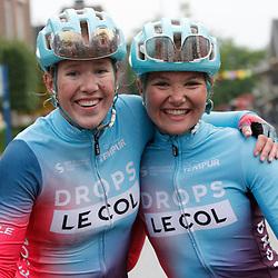 Velhoven (NED) July 03: CYCLING: <br /> Omloop der Kempen Ladies: Maike van der Duin wins ahead of Marjolijn van het Geloof en Lieke Nooijen