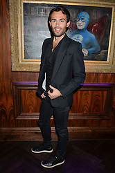 MARK-FRANCIS VANDELLI at the launch of MNKY HSE Restaurant, 10 Dover Street, London on 19th October 2016.