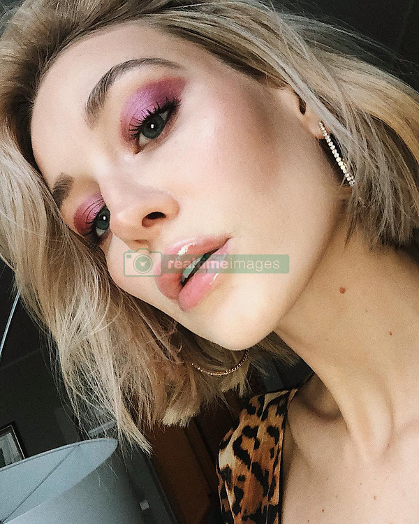"""Mandy Bork releases a photo on Instagram with the following caption: """"Just filmed my #NYE Make-up tutorial for you guys \ud83d\udc9e watch everything in my IG story - Hope you like it (remember: im not a pro, just a girl that loves Make-up \ud83d\ude05\ud83d\udc9c) #ootd #makeuptutorial"""". Photo Credit: Instagram *** No USA Distribution *** For Editorial Use Only *** Not to be Published in Books or Photo Books ***  Please note: Fees charged by the agency are for the agency's services only, and do not, nor are they intended to, convey to the user any ownership of Copyright or License in the material. The agency does not claim any ownership including but not limited to Copyright or License in the attached material. By publishing this material you expressly agree to indemnify and to hold the agency and its directors, shareholders and employees harmless from any loss, claims, damages, demands, expenses (including legal fees), or any causes of action or allegation against the agency arising out of or connected in any way with publication of the material."""
