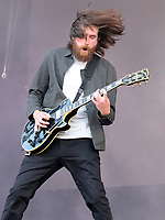 You Me At Six live on stage at the Isle of Wight Festival, Newport, IOW photo by Dawn Fletcher -Park