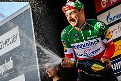 March 15, 2019 - Foligno, Perugia, Italia - Foto Gian Mattia D'Alberto / LaPresse.15/03/2019 Foligno (Italia) .Sport Ciclismo.Tirreno-Adriatico 2019 - edizione 54 - da Pomarance a Foligno  (226 km) .Nella foto:  Elia Viviani (Deceuninck - Quick-Step), vincitore di tappa..Photo Gian Mattia D'Alberto / LaPresse .March 15, 2018 Foligno (Italy).Sport Cycling.Tirreno-Adriatico 2019 - edition 54 - Pomarance to Foligno (140 miglia) .In the pic: Elia Viviani (Deceuninck - Quick-Step), winner of the stage (Credit Image: © Gian Mattia D'Alberto/Lapresse via ZUMA Press)
