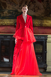 Model walks on the runway during Tony & Tony's fashion show during Select Fashion Awards at Musée Jacquemart-Andre during Spring/Summer 2018 ready to wear collection in Paris, France, October 01 2017. Photo by Nasser Berzane/ABACAPRESS.COM