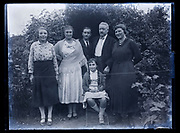 family group portrait France 1933