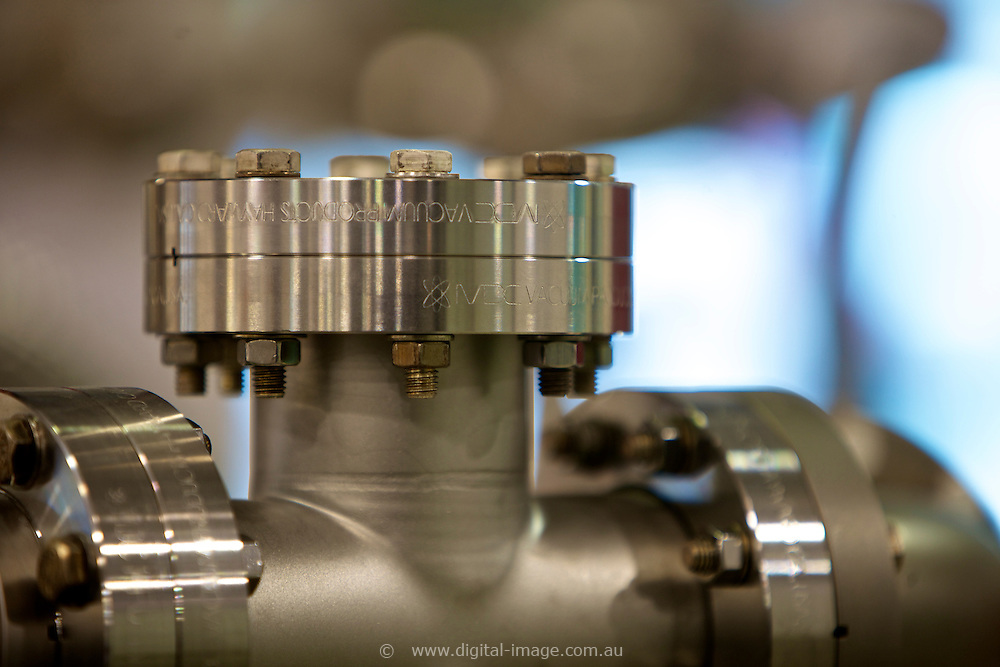 Close up of equipment at the Australian Synchrotron