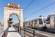 Metro Light Rail at Downtown Azusa Station