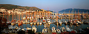 TURKEY, AEGEAN SEA Bodrum; 15th.c castle of St Peter, resort