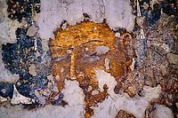 Inde, état de Maharashtra, Ajanta, grottes d'Ajanta classées au Patrimoine mondial de l'UNESCO, grotte N°11// India, Maharashtra, Ajanta cave temple, Unesco World Heritage, cave N°11