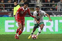 20100303: COIMBRA, PORTUGAL - Portugal vs China: International Friendly. In picture: Nani (Portugal) and Rong Hao (China). PHOTO: CITYFILES