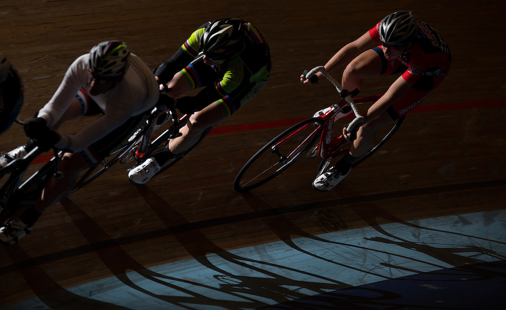 11/3/16 5:36:52 PM --- Riders practice during a training session at the Velodrome --- Carson, CA. Photo by Colter Peterson/Sports Shooter Academy.