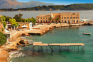 Corfu Old Town Harbour, Greek Ionian Islands .<br /> <br /> If you prefer to buy from our ALAMY PHOTO LIBRARY  Collection visit : https://www.alamy.com/portfolio/paul-williams-funkystock/corfugreece.html <br /> <br /> Visit our GREECE PHOTO COLLECTIONS for more photos to download or buy as wall art prints https://funkystock.photoshelter.com/gallery-collection/Pictures-Images-of-Greece-Photos-of-Greek-Historic-Landmark-Sites/C0000w6e8OkknEb8