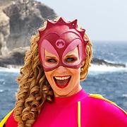 MLT/Malta/20150526 - Set bezoek Mega Mindy versus Rox , Mega Mindy (Free Souffriau)