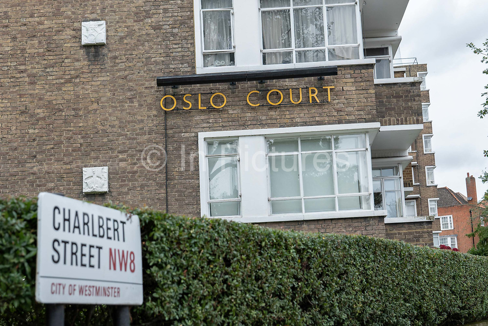 Oslo Court building on the 7th October 2019 in London in the United Kingdom.