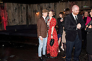 FREDDIE FOX; TAMZIN MERCHANT;  , InStyle Best Of British Talent , Shoreditch House, Ebor Street, London, E1 6AW, 26 January 2011