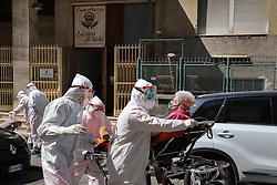 Naples Fuorigrotta Coronavirus the Elderly center The Apple house where many elderly people have been found positive