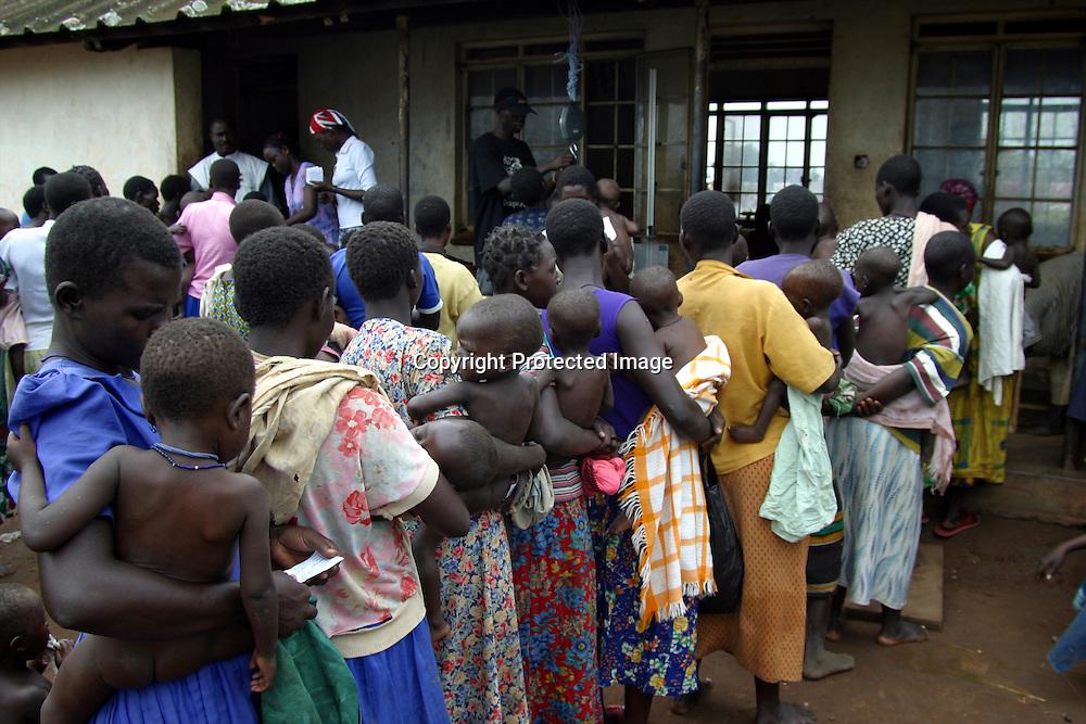 women and child clinic in Uganda